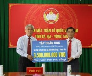 OSC VIETNAM DONATES TO SOCIAL SECURITY FUND OF BA RIA-VUNG TAU