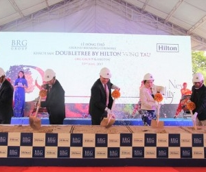 BRG Group brought DoubleTree by Hilton brand to Vung Tau coastal city
