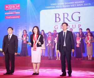 BRG Group won the Vietnam Strong Brand Award 2018