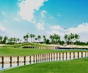 "OFFERS 36-HOLE GOLF MASTERPIECE BY WORLDS TOP COURSE DESIGNERS ""NICKLAUS & NORMAN"""
