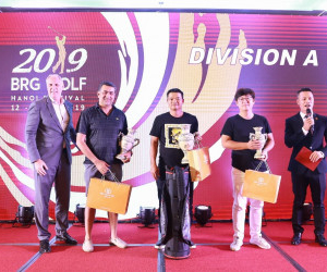 BRG GOLF HANOI FESTIVAL 2019: INTERNATIONAL GOLFERS DEEPLY IMPRESSED WITH VIETNAM'S GOLF TOURISM