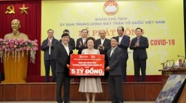 BRG GROUP & SEABANK DONATES VND5 BILLION TO NATIONWIDE FIGHT COVID CAMPAIGN