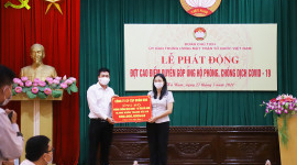 BRG GROUP SUPPORTS HA NAM AND BAC GIANG PROVINCES IN PANDEMIC FIGHT