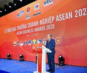 DEPUTY PRIME MINISTER OFFERS CONGRATULATIONS AT ASEAN BUSINESS AWARDS 2020