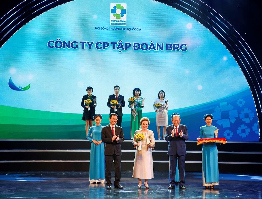 """TẬP ĐOÀN BRG VÀ NGÂN HÀNG SEABANK ĐƯỢC VINH DANH """"THƯƠNG HIỆU QUỐC GIA 2020"""""""
